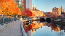 Waterfront Park in Providence, Rhode Island