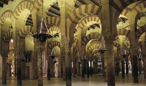 The Mezquita mosque in Cordoba is an example of some of Europe's most beautiful Islamic architecture.