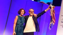 Massimo Bottura, whose Osteria Francescana in Modena, Italy, took the No.1 spot in World's 50 Best Restaurants, 2016.
