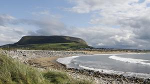 Knocknarea looms over Strandhill, a metric of weather, time and mood. Photo: Alison Crummy/Fáilte Ireland