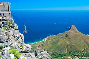 Cable Car At Table Mountain. Photo: Getty Images/EyeEm