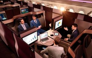 Qatar Airways' new QSuite