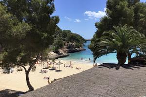 Reader Kevin Mears sent an image from Cala d'Or in Majorca, taken last year.