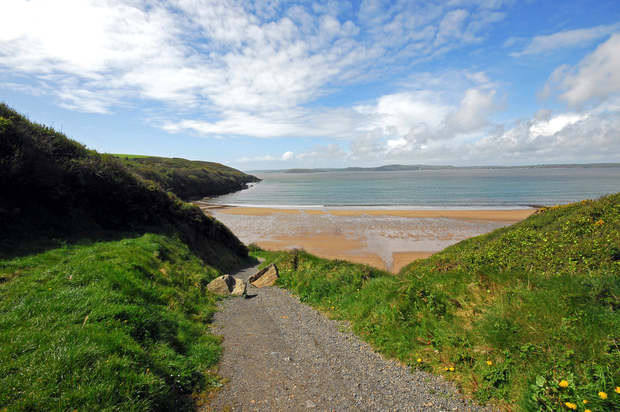 Dollar Bay, on Wexford's Hook Peninsula. Will you find the buried treasure? Photo: Pól Ó Conghaile