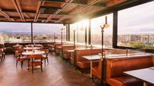 Layla's rooftop bar and restaurant