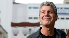 American Chef Anthony Bourdain in Sao Paulo, Brazil. Photo by Paulo Fridman/Corbis via Getty Images