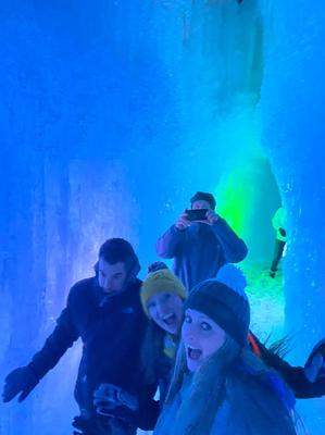 The Ice Castles in Midway