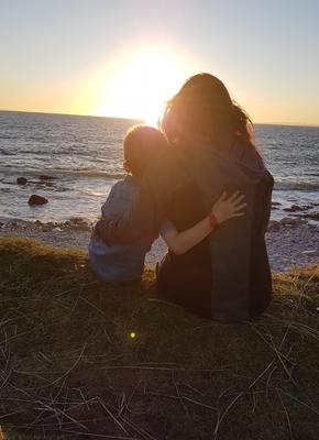 """""""My favourite staycation memory this year: sunset at Fanore beach, Co. Clare."""" Photo: Tracy Cullimore"""
