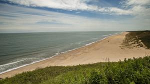 Old Bawn Beach, from the Cahore Point Trail. Photo: VisitWexford.ie