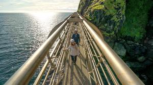 The Gobbins. Photo by Rob Durston for Tourism Northern Ireland