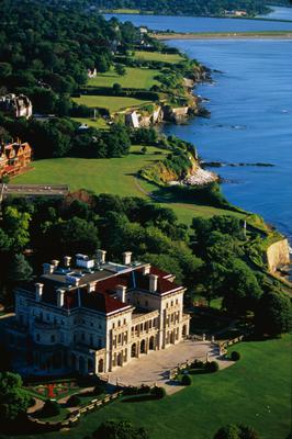 Room with a view: The Breakers, one of the Vanderbilt's palatial homes