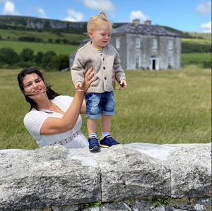 """""""We just happened to drive by and recognised the house instantly,"""" says Stephanie Buckley of this impromptu stop at Father Ted's house in the Burren, Co Clare. """"The sun was beaming down and it was only us outside the iconic house. It was the perfect opportunity for some photos with my son, Phoenix."""""""