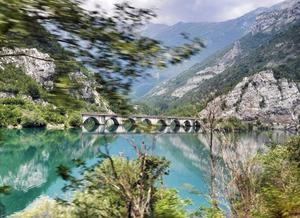 'Beautiful Bosnia out the car window,' says Susan Baughman. 'In seven months camping through Europe, THIS was the biggest surprise.' Photo: Twitter / @todayInIreland