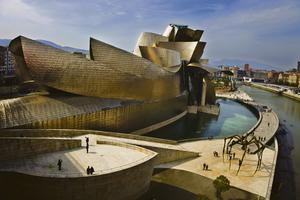 The Guggenheim in Bilbao.