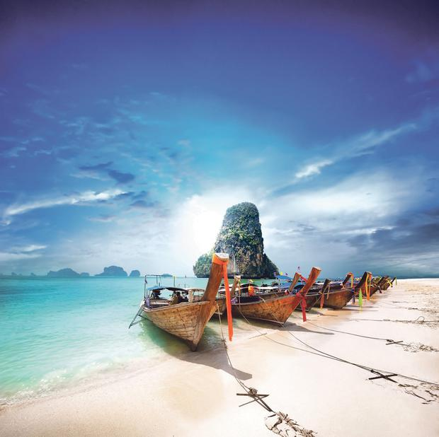 Thailand is famed for its beautiful beaches