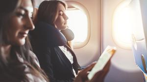 Sleeping on a plane. PA Photo/iStock.