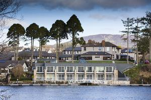Waterfront rooms at The Lakeside Hotel