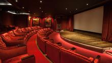 The 32-seater cinema at Ashford Castle
