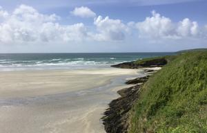 Reader Kevin Mears sent a shot of Inchydoney strand in West Cork.