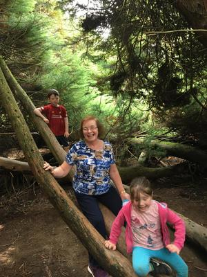 """""""More running and climbing, even Granny gets a go."""" Clare Salley shared a poem from her trip to Kilmacurragh, Co Wicklow"""