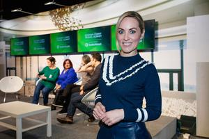 Kathryn Thomas at the Holiday World Show 2017 at the RDS Simmonscourt in Dublin. Picture: Arthur Carron