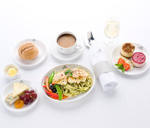 Aer Lingus Business Class... pack an appetite