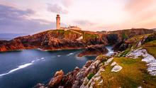 Sunset at Fanad Head Lighthouse, County Donegal, Ireland