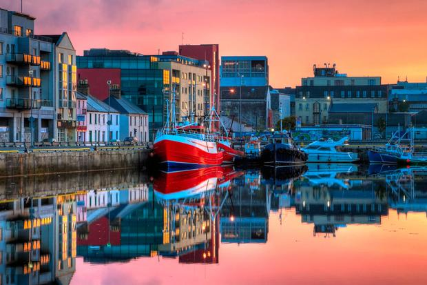 A morning view of fishing boats in Galway dock. Photo: Deposit