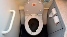 Aircraft toilets. Photo: Deposit