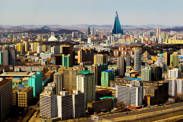 Pyongyang skyline. Photo: Deposit