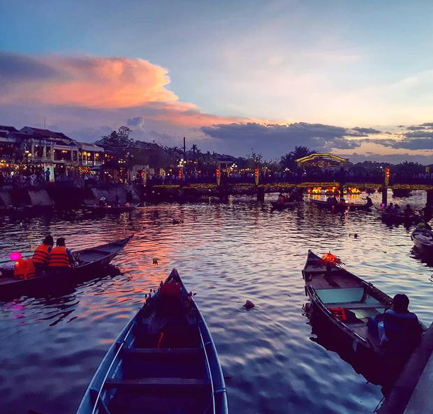 I've loved looking at all these photos... this was a sunset in Hoi An during a trip to Vietnam in May last year,' writes Natalie Garland. Twitter: @nataliegarland