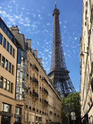 The Eifel Tower in Paris. Photo: Avril Molloy (Twitter @CheeseSchoolIrl)