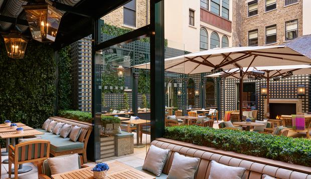 The Shelbourne Hotel's new terrace