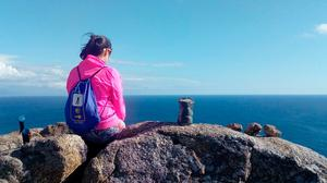 End of the road at Cape Finisterre