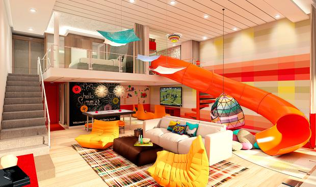 Symphony of the Seas - Ultimate Family Suite (with slide!)
