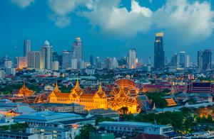 Bangkok's Grand palace at twilight. Photo: Deposit