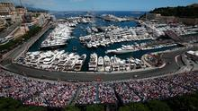 The Monaco street circuit in Monte-Carlo. Photo: JEAN CHRISTOPHE MAGNENET/AFP/Getty Images