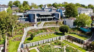 The Montenotte Hotel and its sunken Victorian Garden. Photo by Tony Dunne
