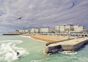 Seaside stay: Brighton seafront