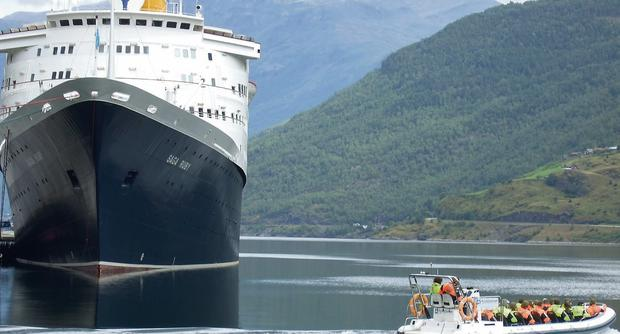 Over-50s cruises with Saga.