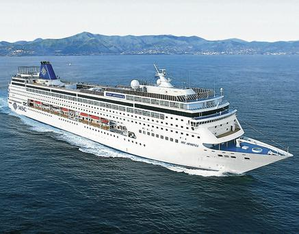 The MSC Armonia operates out of Gran Canaria and currently offers some great deals