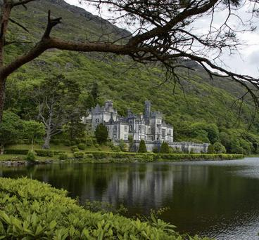 SUMMER EDEN: The scenic splendour of the Connemara countryside, including Kylemore Abbey, is enchanting