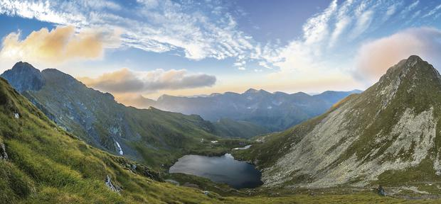 A step back in time: Capra lake in the Fagaras Mountains