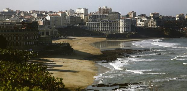 SPARKLING: Biarritz is the jewel in the crown of the French south coast