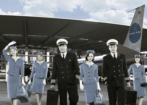 Back in style: The high-class service portrayed in 'Pan Am' is returning to airports. Photo: Bob D'Amico