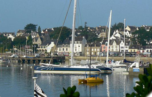 Picture postcard: The harbour in La Trinite-sur-Mer
