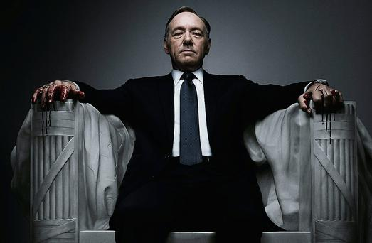 Kevin Spacey in House of Cards