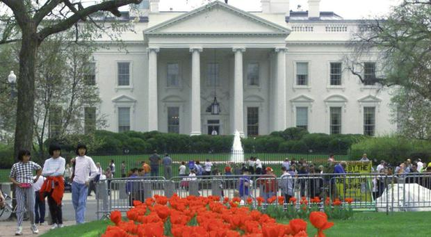 Washington DC's main attraction for many - The White House