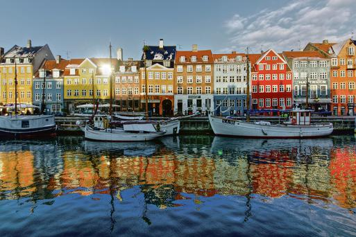 The Danish capital: Copenhagan