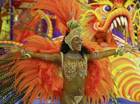 Be transported to Rio's Carnival